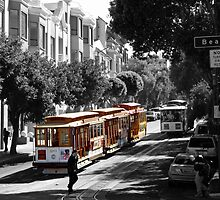 Cable Car-San Francisco by BellaButterfly