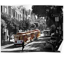 Cable Car-San Francisco Poster