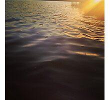 Light Leak Lake Photographic Print