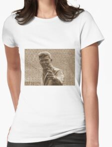 Billy Fury. Womens Fitted T-Shirt