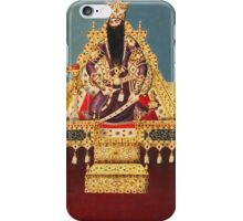 Vintage Indian Royalty Relief iPhone Case/Skin