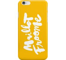 Maillot Froome : TDF Yellow iPhone Case/Skin