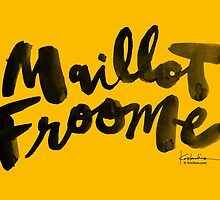 Maillot Froome : TDF Yellow by finnllow