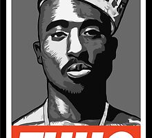 THUG (Tupac Shakur) by Daxes