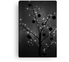 Christmas Silhouette Canvas Print
