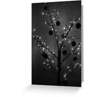 Christmas Silhouette Greeting Card
