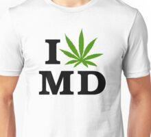 I Love Maryland Marijuana Cannabis Weed Unisex T-Shirt