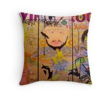 Living Proof Triptych Throw Pillow
