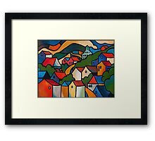 CASCADE BREWERY, HOBART, TASMANIA Framed Print