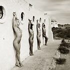 Four in line by John Tisbury