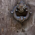 Door Knocker by Indrani Ghose