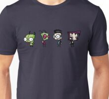 8-Bit Invader Zim Characters Unisex T-Shirt