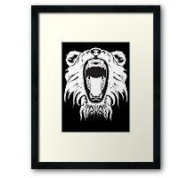 Lion's Roar Framed Print