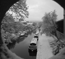 Bath Narrow Boats by MichelleRees