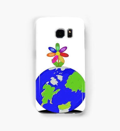 Earth Flower Samsung Galaxy Case/Skin