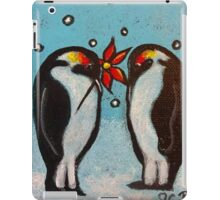 Penguin Love iPad Case/Skin