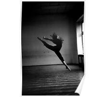 A dancer.  Poster