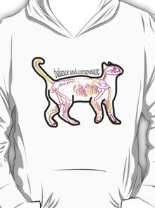 Composure and Balance Cat T-Shirt