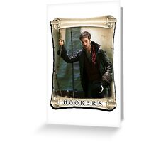 Colin O'Donoghue / Captain Hook Greeting Card