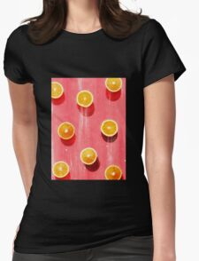 fruit 5 Womens Fitted T-Shirt