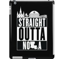 Straight Outta NOLA iPad Case/Skin