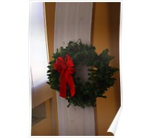 A Christmas Wreath Poster