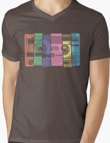 Mix Tape 1.0 Mens V-Neck T-Shirt