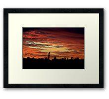 Sundowner Framed Print