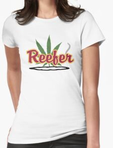 Reefer Womens Fitted T-Shirt