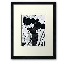 Mickey and Minnie Framed Print