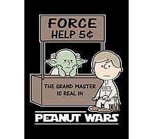 Peanut Wars 2 Photographic Print