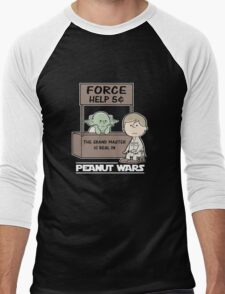 Peanut Wars 2 Men's Baseball ¾ T-Shirt