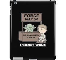 Peanut Wars 2 iPad Case/Skin