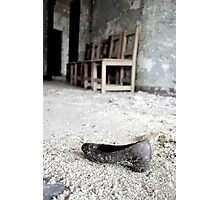 Huarache , Asylum in CT Photographic Print