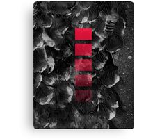 black ocean Canvas Print