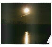 Moon Set Poster