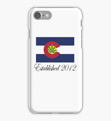 Colorado Marijuana 2012 iPhone Case/Skin