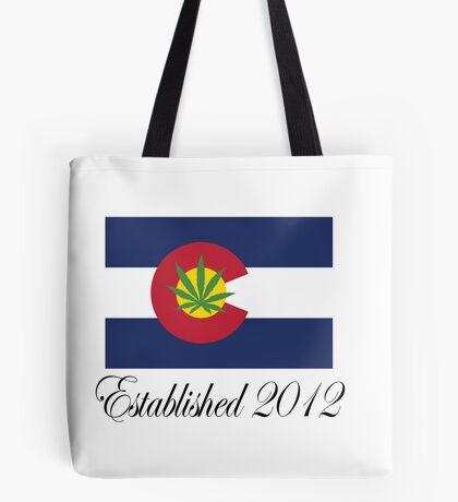 Colorado Marijuana 2012 Tote Bag