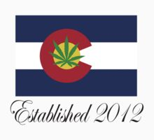 Colorado Marijuana 2012 by MarijuanaTshirt
