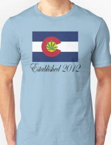 Colorado Marijuana 2012 Unisex T-Shirt
