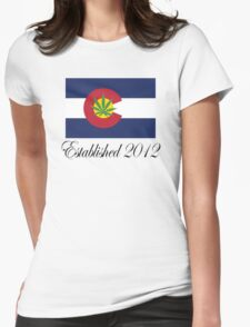 Colorado Marijuana 2012 T-Shirt