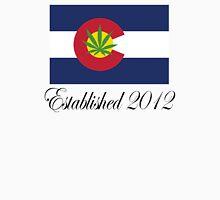 Colorado Marijuana 2012 Womens Fitted T-Shirt