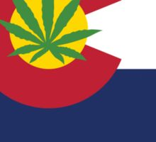 Colorado Marijuana 2012 Sticker