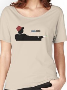 Mad Man (with a Box) Women's Relaxed Fit T-Shirt