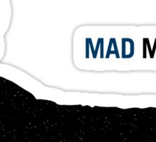 Mad Man (with a Box) Sticker