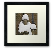 Snow Fashion Framed Print