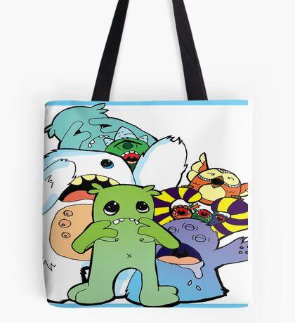 sacred monsters Tote Bag