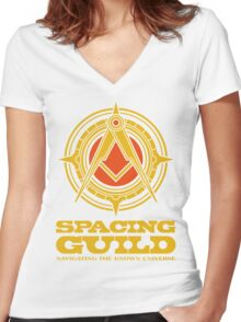 Dune SPACING GUILD Women's Fitted V-Neck T-Shirt