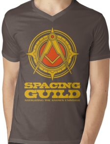 Dune SPACING GUILD Mens V-Neck T-Shirt
