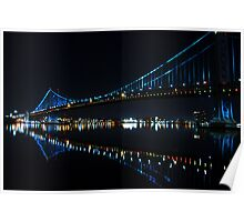 The Ben Franklin Bridge Poster